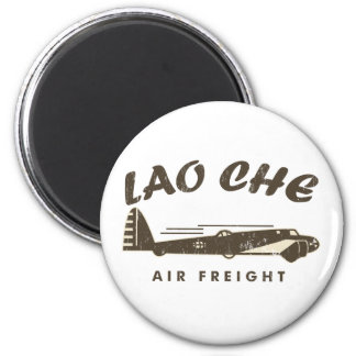 LAO-CHE air freight2a 2 Inch Round Magnet
