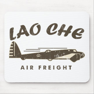 LAO-CHE air freight2a Mouse Pad