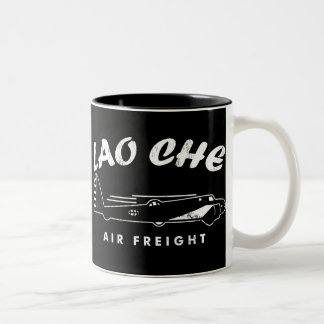 LAO-CHE air freight Two-Tone Coffee Mug