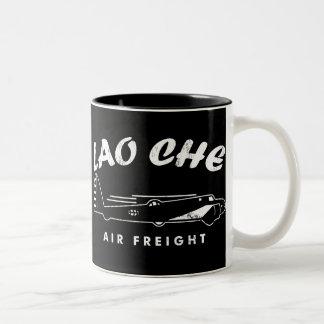 LAO-CHE air freight Two-Tone Mug