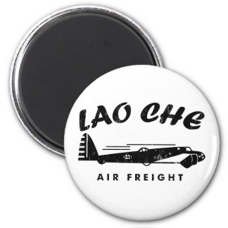 LAO-CHE air freighta 2 Inch Round Magnet