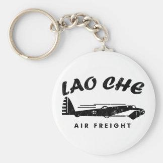 LAO-CHE air freighta Basic Round Button Keychain