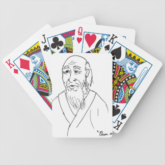 Lao Tzu Bicycle Playing Cards