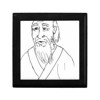 Lao Tzu Keepsake Box