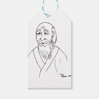 Lao Tzu Pack Of Gift Tags