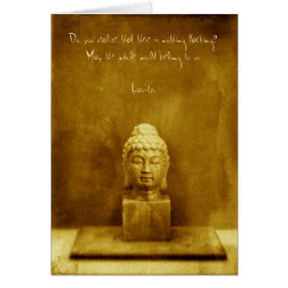 Lao Tzu Quote Card