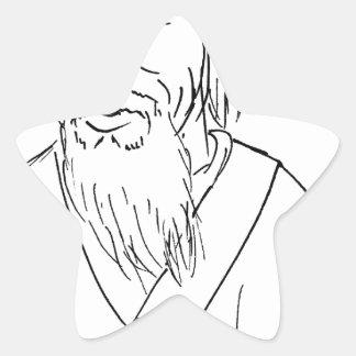 Lao Tzu Star Sticker