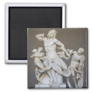 Laocoon and Sons Square Magnet