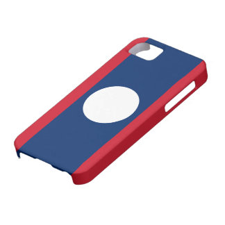 Laos Flag iPhone 5 Cases