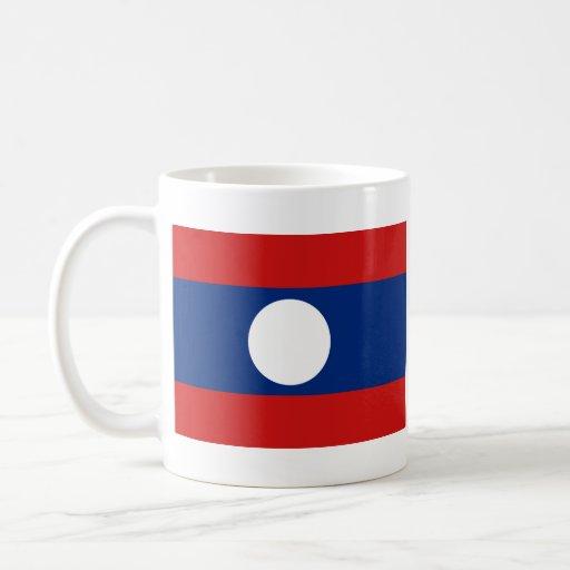 Laos Flag ~ Map Mug