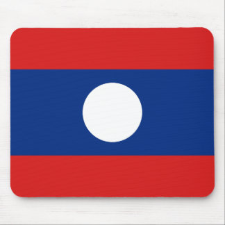 Laos Flag Mousepad