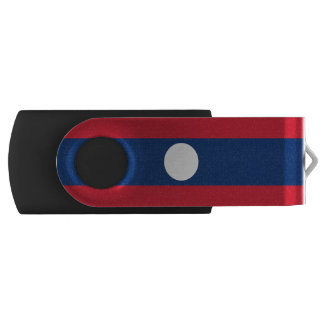 Laos Flag USB Flash Drive