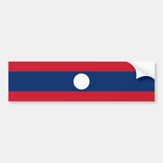 Laos/Lao/Laotian Flag Bumper Sticker