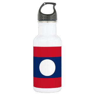 Laos National World Flag