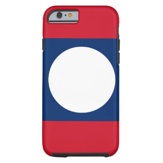 Laos National World Flag Tough iPhone 6 Case