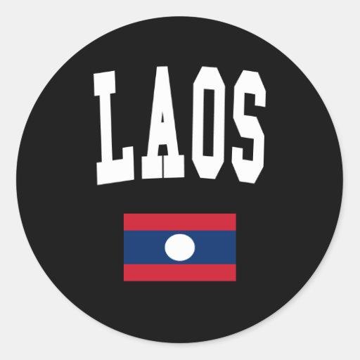 Laos Style Sticker