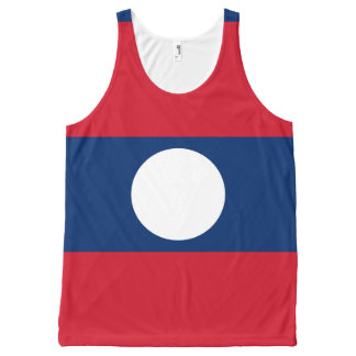 Laotian flag All-Over-Print tank top