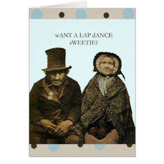 Lap Dance Sweetie Card