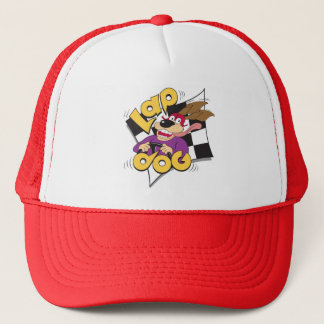 Lap Dog - auto racing fan's hat