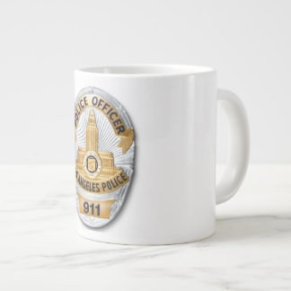 LAPD Badge Large Coffee Mug