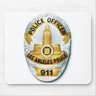 LAPD Badge Mousepad