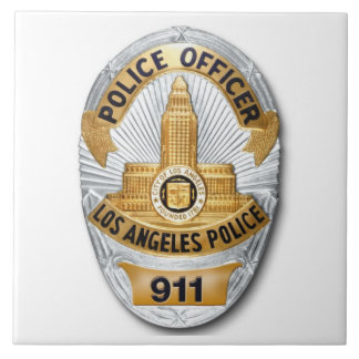 LAPD Badge Tile
