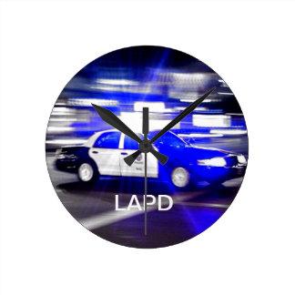 LAPD Clock