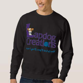 Lapdog Creations dark sweatshirt