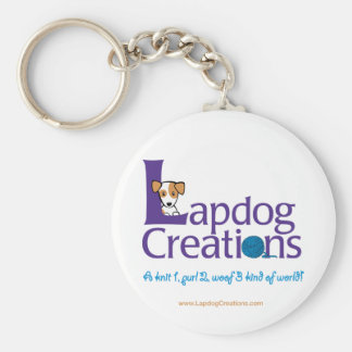 Lapdog Creations keychain