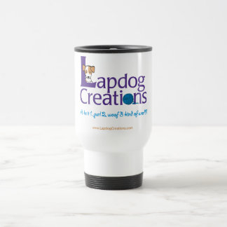 Lapdog Creations travel mug