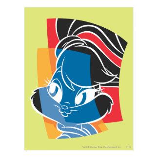 Lapin 4 expressifs de Lola Cartes Postales