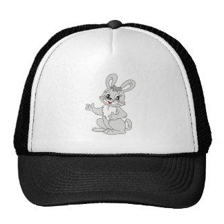 Lapin de bande dessinée casquettes
