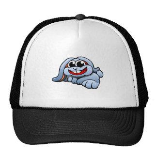 Lapin de bande dessinée casquette de camionneur
