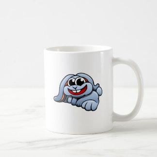 Lapin de bande dessinée mug