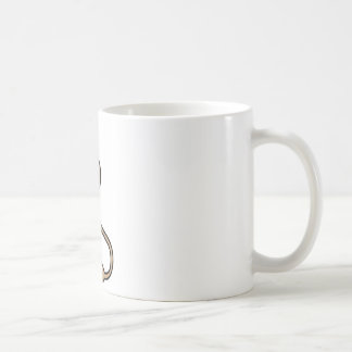 Lapin de bande dessinée mugs à café