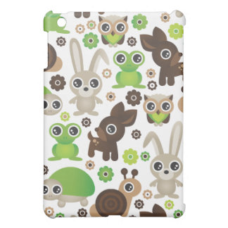 Lapin de cerfs communs de tortue de grenouille d'e coque pour iPad mini