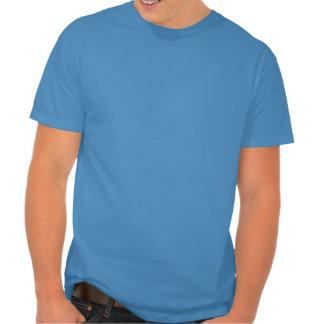 Lapin de moustache t-shirts