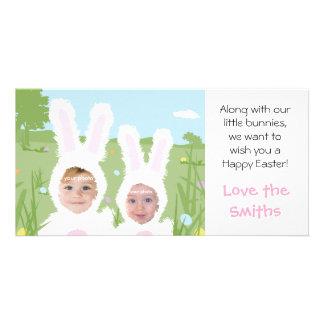 Lapin de Pâques - carte photo Cartes Avec Photo