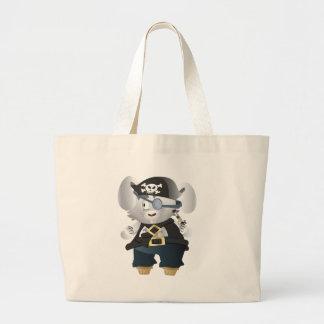 Lapin de pirate sac en toile jumbo