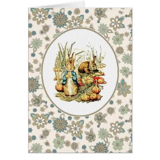 Lapins vintages par Beatrix Potter Cartes de Pâqu