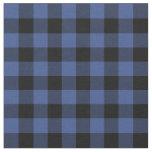 Lapis Blue Buffalo Check Plaid Fabric