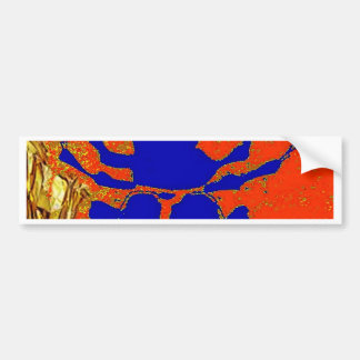 Lapis Blue Staghorn Beetle gifts Bumper Sticker