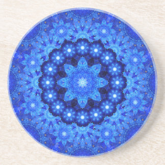 Lapis Crown Mandala Coaster