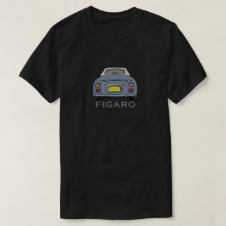 Lapis Grey Nissan Figaro Car Cartoon T-Shirt