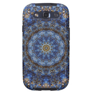 """Lapis Lazuli Laminate"" cell-phone skin Samsung Galaxy SIII Covers"