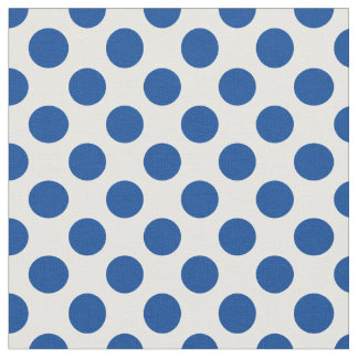 Lapis Polka Dot Fabric