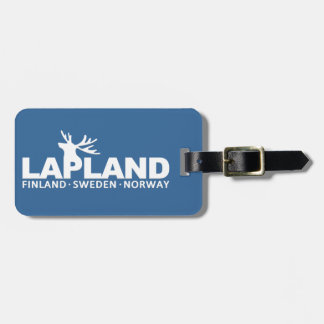 LAPLAND custom luggage tag