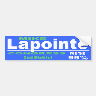 Lapointe For Congress 2014 Campaign Bumper Sticker
