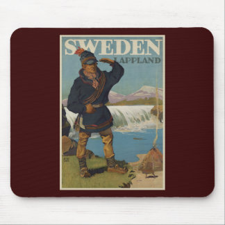 Lappland Sweden Mouse Pad