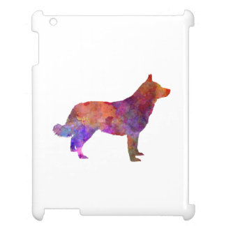 Lapponian Herder in watercolor iPad Case